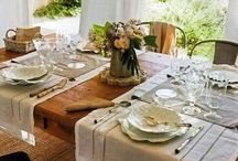 Tablesettings and weddings