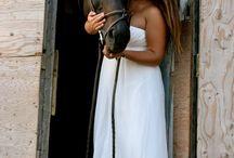 My horse & I