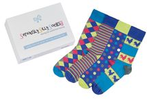 Spots and circles | Men / Men's socks with spots or circles in the design!