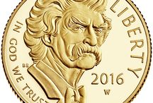 2016 Mark Twain Commemorative Coin / by United States Mint