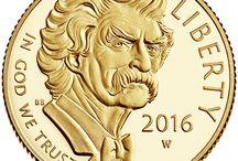 2016 Mark Twain Commemorative Coin