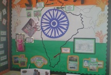India-classroom display
