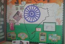 India-classroom display