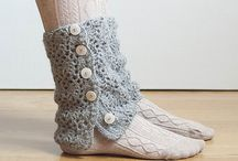 Crochet and Knitted Footwear