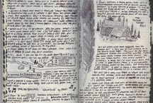 Journals, Maps, and Sketchbooks