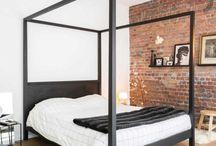 camera da letto - industrial