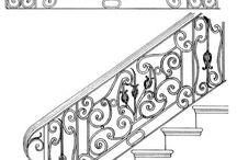 Wroght iron stair