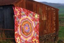 Quilts / Beautiful patchwork quilts I discover along the way...