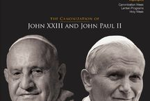 2 Pope Saints / Info on Blessed John Paul II and Blessed John XXIII, news about the upcoming canonizations, inspirational quotes and special Pope programming on CatholicTV.