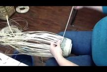 BASKET VIDEOS:  YES you can learn to weave a basket / Instructional videos by Jill Choate of JChoateBasketry.com, learn the tips and techniques of how to make your own fabulous baskets.