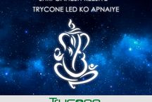Nayi Soch ka Shri Ganesh / Nayi Soch ka Shri Ganesh Goodbye to annoying flickering lights. Change to Constant , Clear , Pure Light. Use Trycone Led