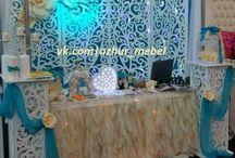 резная свадебная арка, ажурная ширма, ширма для выездной регистрации / Ажурная свадебная ширма украсит любую свадьбу или выездную регистрацию.
