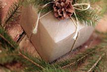 Emballage cadeau de Noël