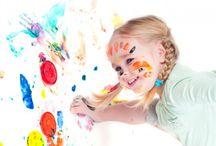 Get Crafty / Fun crafts for children to do.