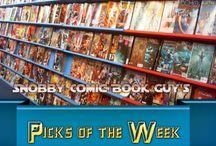 Snobby Comic Book Guy's Picks of the Week / Zombie Gamer Online's resident Snobby Comic Book Guy, reviews his comic book picks for the week! / by Zombie Gamer Online