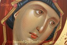 Byzantine Icons / Handmade Byzantine Icons.Wallpaintings and mosaics.