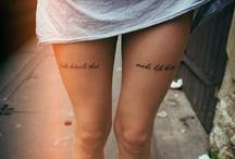 Tatuagens que adoro / tattoos