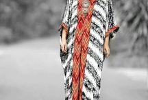 kaftan batik
