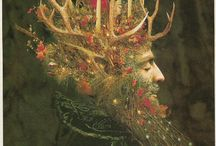 ♥ Yule ♥ / Pagan winter solstice - December 21st / by Peggy Martin-Lenzing