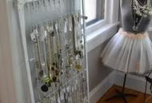 Recycling and Organizing ideas / Reusing and repurposing instead of buying. I like it!