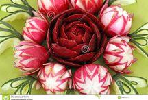 CArving radish