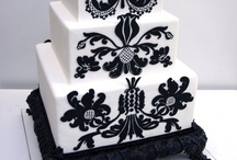 Wedding: Wedding cakes / cake, cake, cake!!! ideas and inspiration for all kinds of wedding cakes, from small and simple, to absurd and elegant...
