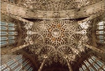 Architecture - Gothic Perpendicular / Perpendicular denotes the last stage of English Gothic church architecture, prevalent from the late 14th to mid 16th centuries and characterized by broad arches, elaborate fan vaulting, and large windows with vertical tracery.
