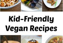 Kid friendly vegan food