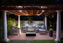 Outdoor Fireplaces / These custom outdoor gas fireplaces bring living room warmth to the patio, so you can keep the summertime fun burning late into the night.