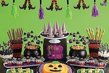 Witch's Crew Sweets and Treats Ideas! / Cast a spell on your ghostly crew with candy-dipped ice cream cone witch hats, bat pops & more bewitching treats! / by Party City