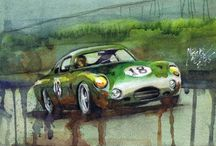 Car Art / The best car art to ride your walls!