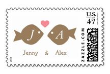 Wedding Stamps / Elegant and creative designs for weddings.