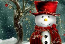 Kardan adam - Snowmen - Christmas