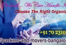 Switch To Packers And Movers Bangalore And Get Amazing Shifting Services