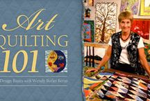 Great Online quilting classes / by Wendy Butler Berns