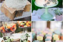 cakes/succulents