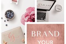 Branding / Brand designs for business and marketing use. Moodboard creations for small business and etsy seller. Branding tips and how to information for your start up.