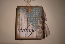 Mini-Album Vintage / My workshop for Alfil.be Gracia.