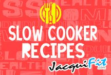Healthy Slow Cooker Recipes / Healthy recipes for slow cookers  / by Jacqui Blazier, www.jacquifit.com