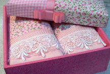 costura creativa/toallas