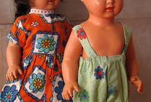куклы целюлоидные