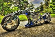 Motorcycles / by Bee S
