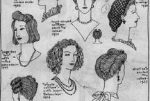 Research: 1920 - 1940 / Fashions, objects, and things from the past. A fascinating era. / by Shelley Munro: Author