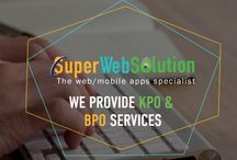 "We Provide KPO & BPO Services! / GROW YOUR BUSINESS WITH US - We're software and design firm, We develop innovative and even transformational applications for our clients - work that delights and occasionally inspires exclamations of ""that's like something out of science fiction!"" (We're always glad to hear stuff like that.)"