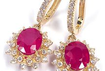 Ruby & Diamond AIG / These items were appraised for clients in the Lab of American International Gemologists.