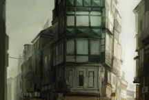 Architecture Concept Art