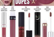 Jeffree Star Lipstick Dupes