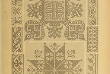 oude borduur boeken