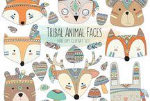Animales tribales