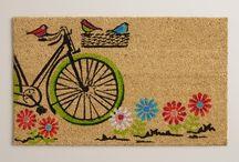 new doormat(s) / by Lisa Ward